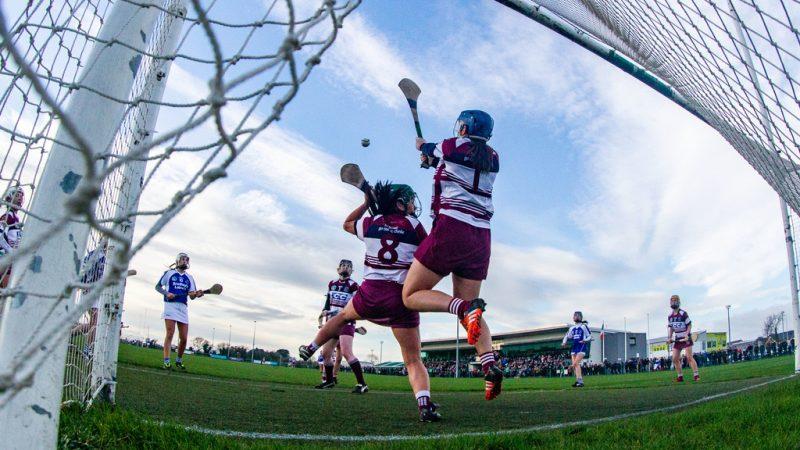 Jolene Bradley stops a shot on goal 27/1/2019