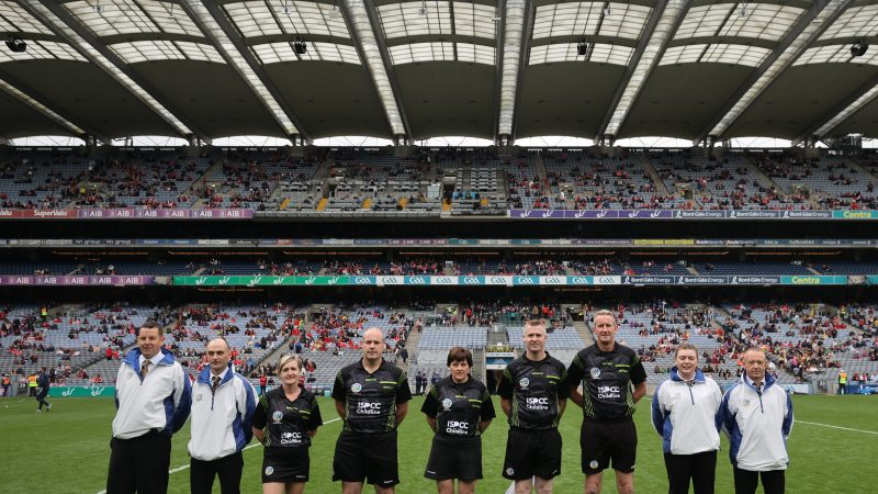The Camogie Association are recruiting new National Referee Advisors for 2022 and are seeking candidates to support our National Referee Panel.